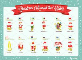 christmas around the world illustrations creative market