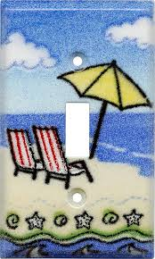beach light switch covers ocean beach switch cover