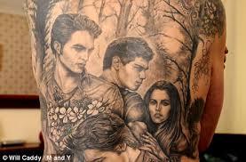 about an image re vamp twilight fan has inky tribute tattooed
