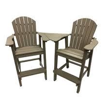 Tall Outdoor Table Tall Outdoor Balcony Chairs Wayfair