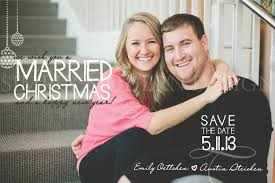 married christmas cards save the date christmas cards christmas lights decoration