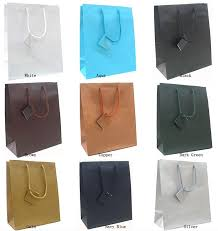 metallic gift bags shopping bags mall wholesale tote gift bags matt tote