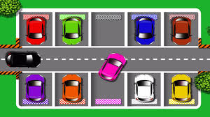 learn colors with car parking cars colours for children