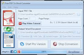Count Word In Pdf Pdf To Word Converter Free