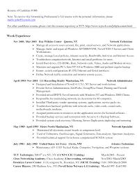 Resume Sample Technician by Resume Sample Tech Resume
