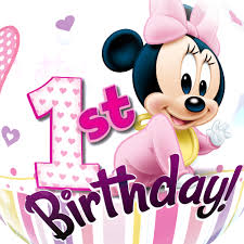 1st birthday minnie 1st birthday balloon 22 1pc