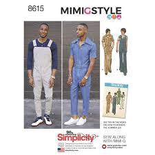 jumpsuit stitching pattern pattern 8615 men s vintage jumpsuit and overalls