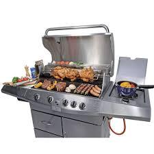 cuisiner avec barbecue a gaz barbecue gaz avec rotissoire maison design hosnya com
