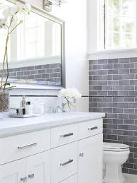 white and blue bathroom 35 blue gray bathroom tile ideas and pictures