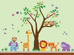 babyzimmer wandgestaltung ideen babyzimmer wandgestaltung 15 wanddeko ideen mit tieren