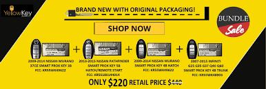 nissan pathfinder key start yellow key supply