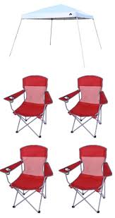 ozark trail 12x12 canopy and 4 chairs only 64 kasey trenum