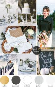 white gold and purple wedding winter wedding theme charcoal white and gold