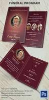 Funeral Pamphlet Ideas 16 Psd Obituary Templates U0026 Designs Download Free U0026 Premium