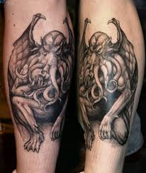 47 besten h p lovecraft tattoos bilder auf pinterest monster