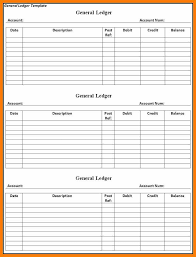 10 business account ledger template weekly template