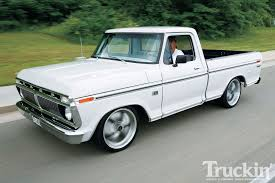 1974 ford f 100 homebuilt ranger father son build truckin