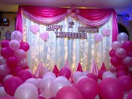 decorations for birthday party at home artistic color decor fancy