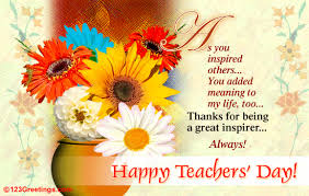 a great inspirer free teachers day india ecards greeting