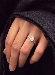 oval engagement rings gold best 25 oval engagement rings ideas on gold