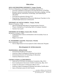 Sample Speech Pathology Resume by Speech Pathology Resume For Grad Contegri Com