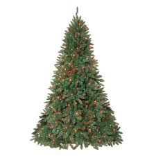 half trees aspen spruce half pre lit artificial tree