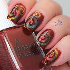 35 stylish spiral nail art designs