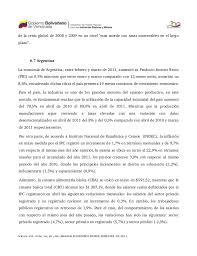 Movimientos Encadenados Mayo 2011 - informe econ祿mico primer semestre del 2011 de la econom祗a venezolana