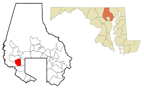 Md Map Milford Mill Maryland Wikipedia