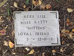 memorial stones for dogs diy pet tombstone memorial 5 steps with pictures