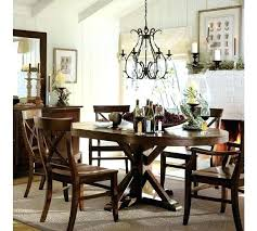 pedestal kitchen table and chairs pottery barn aaron chair chair pottery barn medium size of tables
