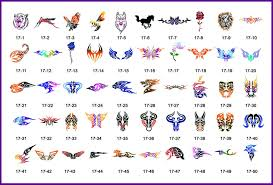 prices chart inspirational how much do tattoos cost by size