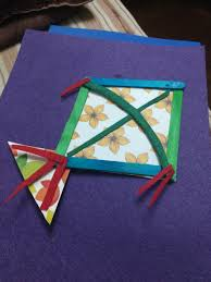 how to make a quick easy paper kite for kids