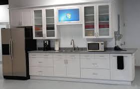 refrigerator white kitchen interior design kitchen cabinets doors