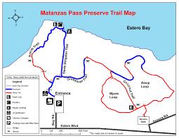 Map Of Estero Florida by Matanzas Pass Preserve