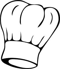 Toc De Cuisine - adhesif sticker cuisine toque de cuisinier ou pâtissier taille 19
