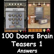 100 door escape scary home walkthroughs 100 doors teasers walkthrough android apps on google play
