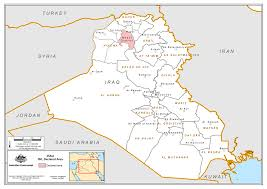Syria On World Map by Declared Area Offence Australian National Security