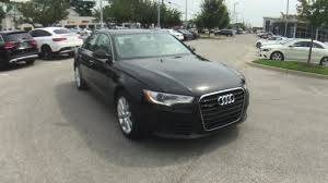 audi a6 premium pre owned 2013 audi a6 2 0t premium plus 4dr car in louisville