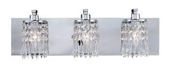 lighting 11230 3 crystal optix vanity light