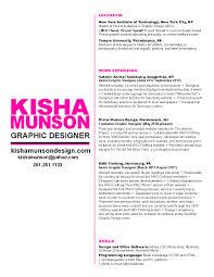 Fashion Design Resume Resume Designers Resume Samples