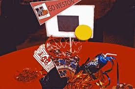 basketball centerpieces customer u0027s diy basketball theme