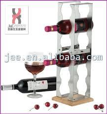 retail metallic flooring vintage wine bottle display rack whiskey