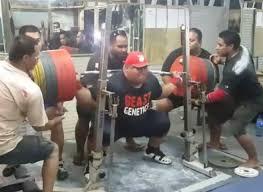 Bench Press Raw Record Jezza Uepa Squats 1 036 Lbs Raw 31 Pounds Over Ray Williams