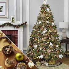 golden radiance theme complete tree decorating kit
