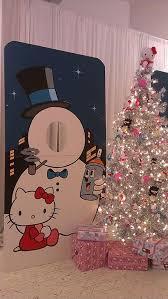 Hello Kitty Christmas Tree Decorations Hello Kitty Silver Christmas Tree