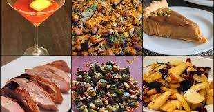 cook in dine out thanksgiving 2014 recipes