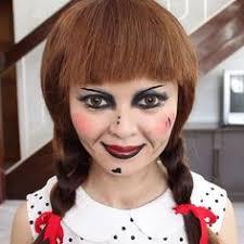 Scary Dolls Costumes Halloween Creepy Annabelle Halloween Costume Halloween Costume Contest
