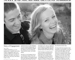 Newspaper Wedding Program Newspaper Wedding Etsy