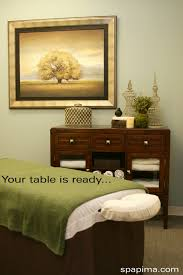 Esthetician Bed Day Spa Massage Therapy Room Esthetician Room